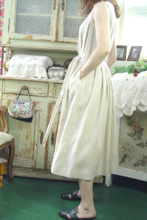 BURBERRYS  linen   dress