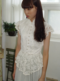 Antigue Lace Victorian Blouse