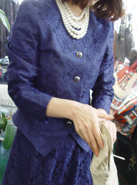Violet retro lace Jacket