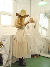 My, antique antique vintage dress