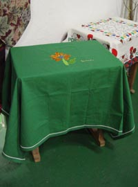 Oh, My Green  tablecloth