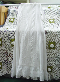 BAby  vintage christening  dress (USA)