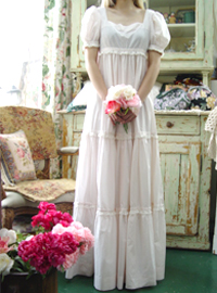 Baby pink romantic empire ...in Pride & Prejudice (USA)