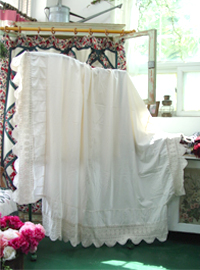crocher  hand blanket  bed sheet