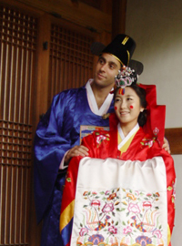 Korean traditional wedding (A)