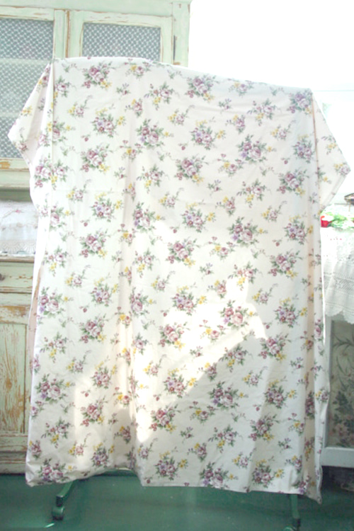 Provence in.. burgundy  floral single  beding (사이드 지퍼)