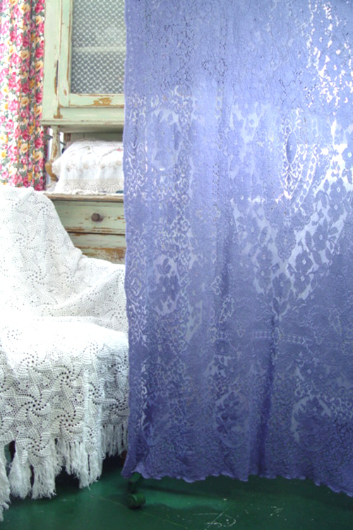 vintage romantic embroidery   lace   blanket     청보라 (USA)