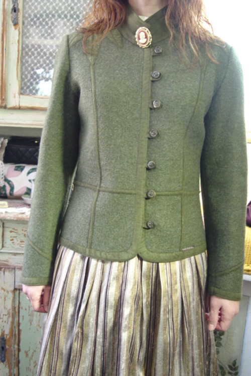GEIGER vintage  highquality wool jacket  (AUSTRIA )