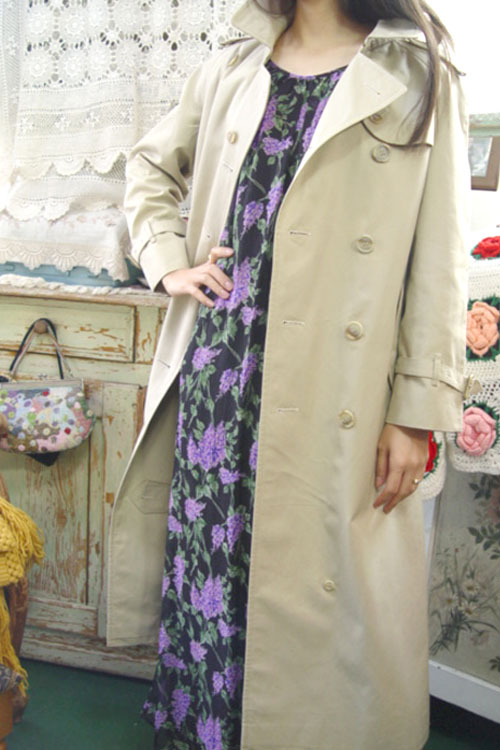 everyday classic BURBERRY trenchcoat (밝은 베이지)